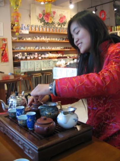 Gongfu cha w Kobe