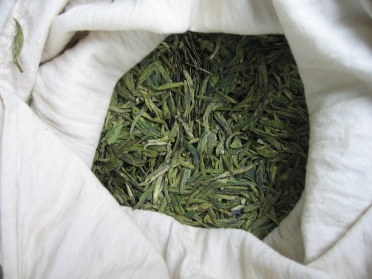 herbata Longjing 2009 - fot. Anna Włodarczyk