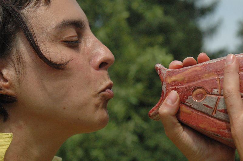 Urodzinowe całowanie Ryby  fot. Magdalena Rybak