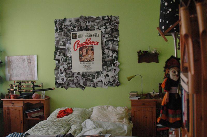 Nasze czajowe łóżko fot. Magdalena Rybak