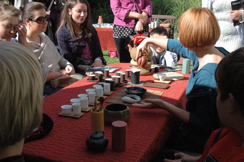 Gongfu cha w Ogrodzie  fot. Magdalena Rybak