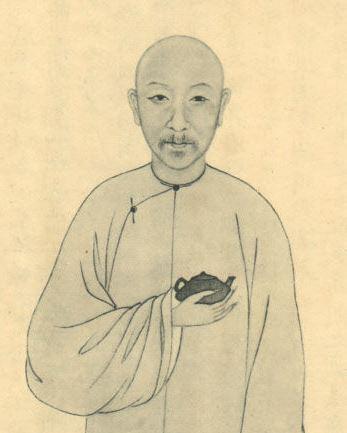 Chen Hongshou 陳鴻壽 (1768-1822), znany  jako Mansheng 蔓生. Źródło ilustracji: baike.baidu.com