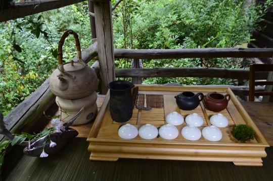 herbata na werandzie