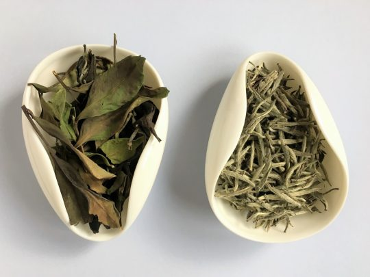 Dwie białe herbaty: Yilin Baicha i Baihao Yinzhen